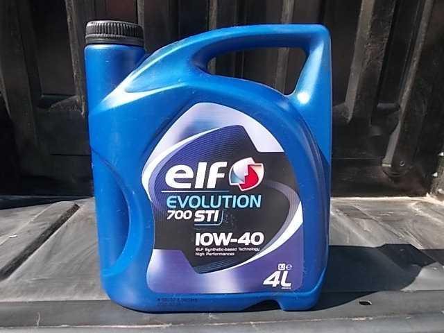 Моторное масло Elf 10W40