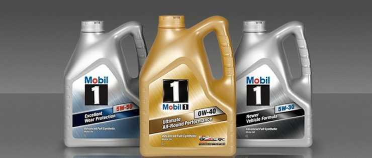 Моторные масла с разной степенью вязкости