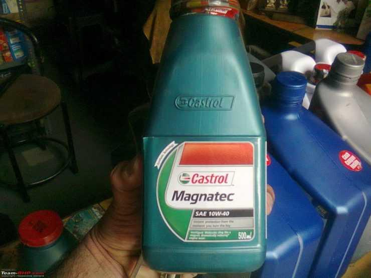 Применение масла Castrol Magnatec