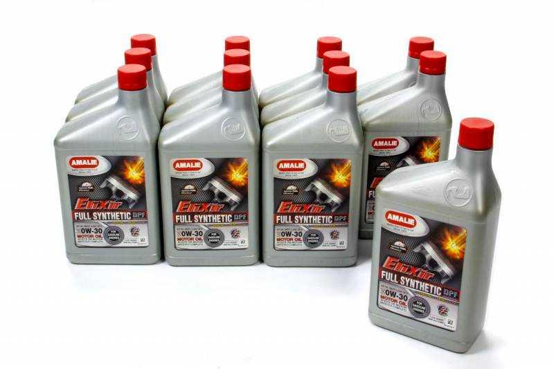 Синтетическое моторное масло 0W30
