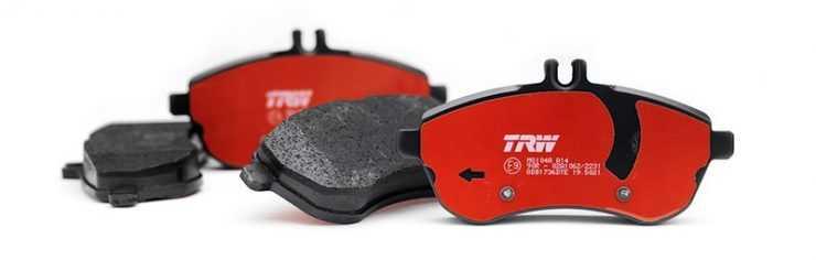 Тормозные колодки TRW