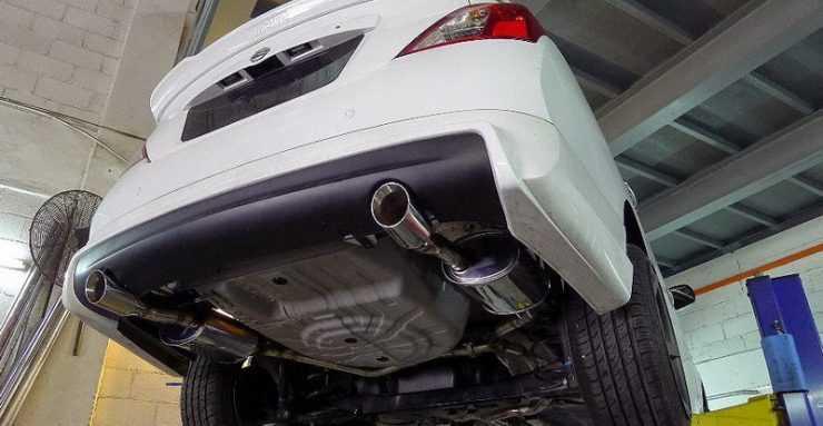 Выхлопная система Nissan Almera