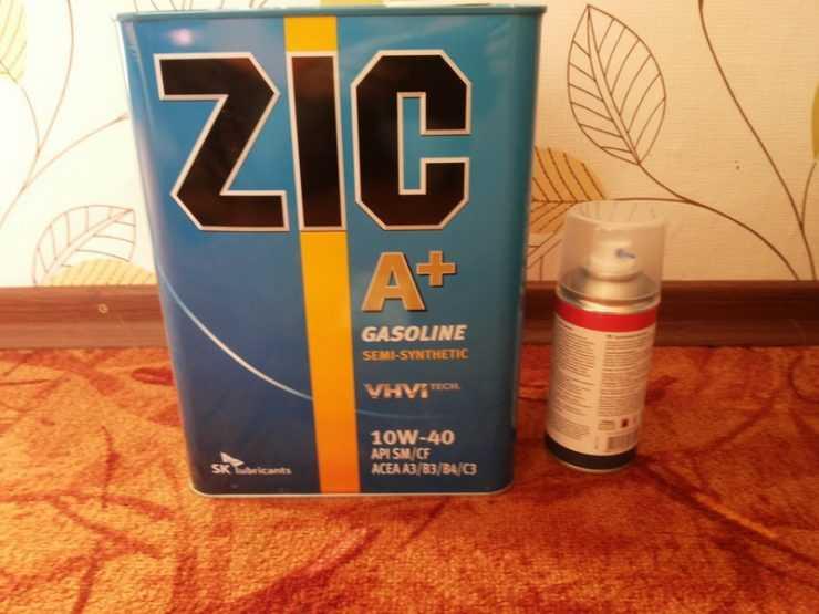 Полусинтетическое масло ZIC 10W-40