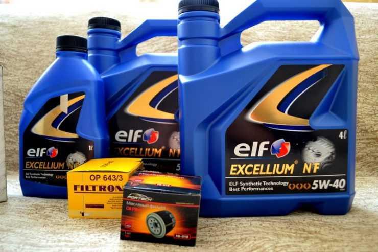 Замена моторного масла и фильтра