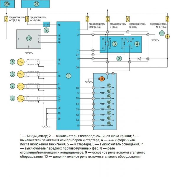 схема устройства электропитания