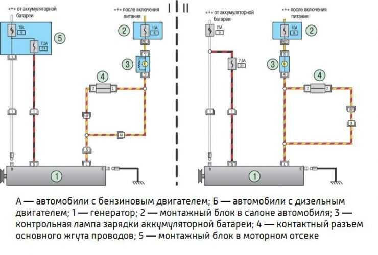 Общая схема электропитания