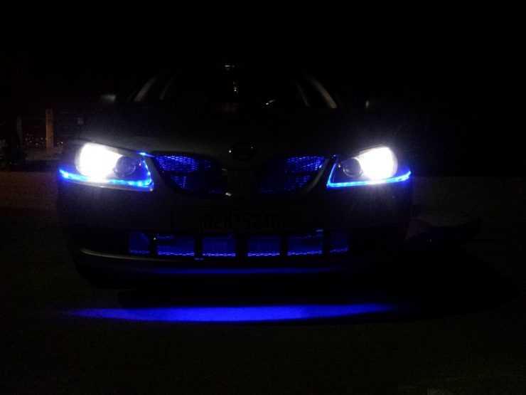 Ближний свет Nissan Almera