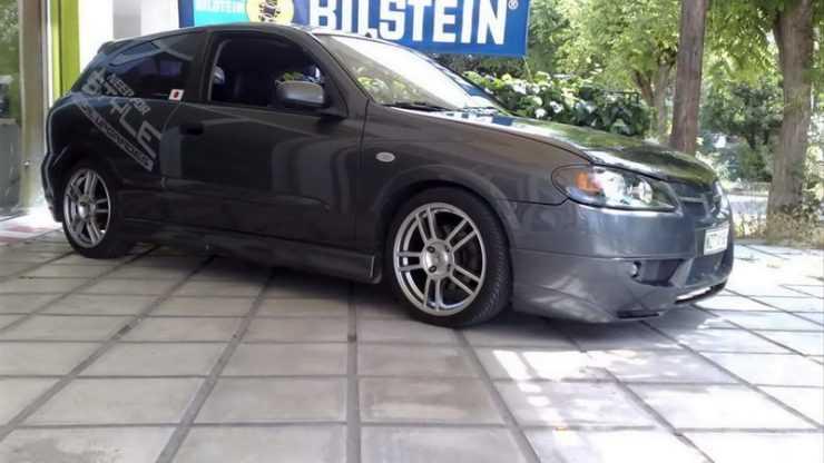 Nissan Almera в обвесе