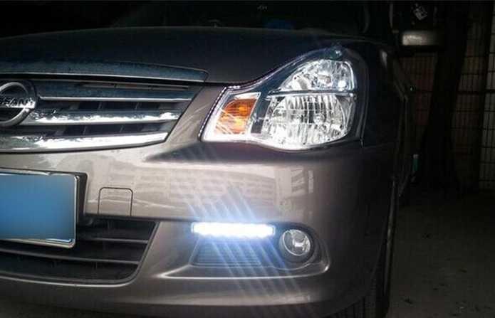LED лампы Nissan Almera