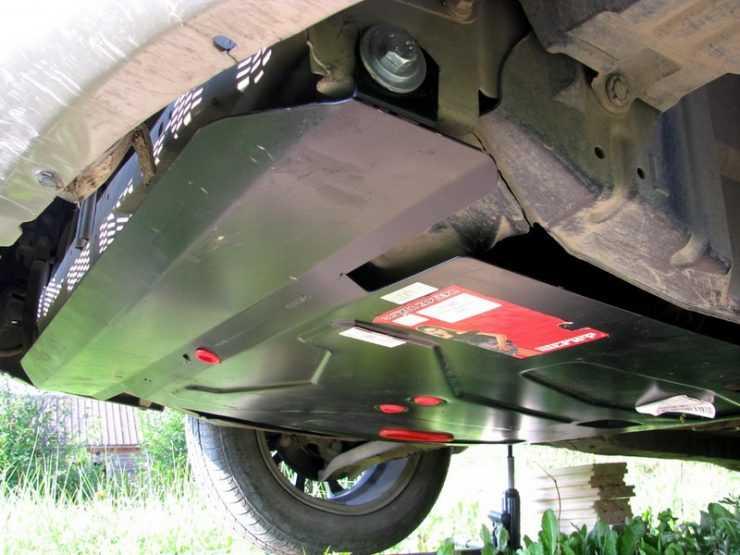 Защита картера Nissan Almera