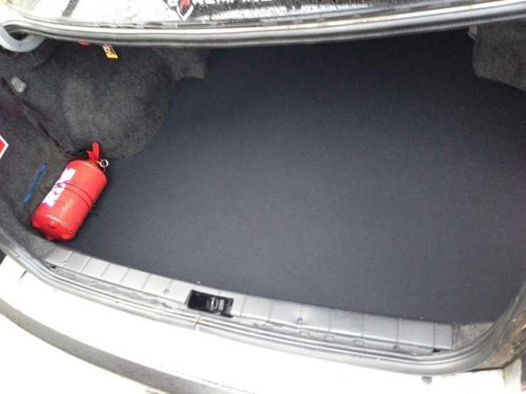 Ковролин в багажник Nissan Almera