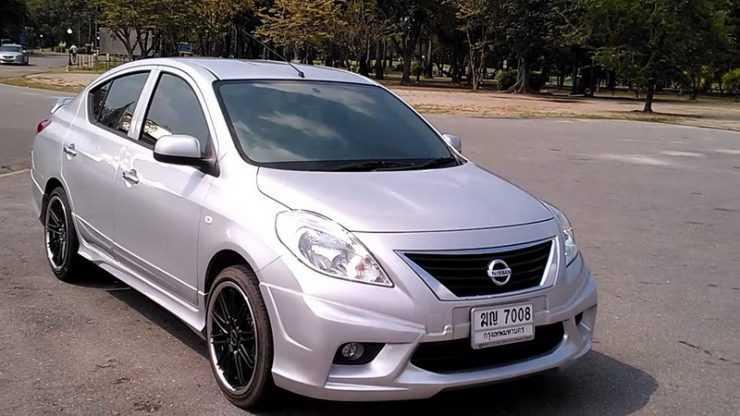 Обвес для Nissan Almera G15