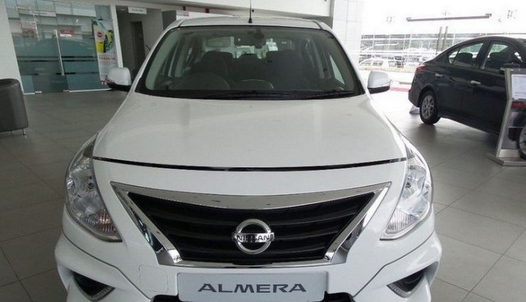 Nissan Almera 2017 в салоне