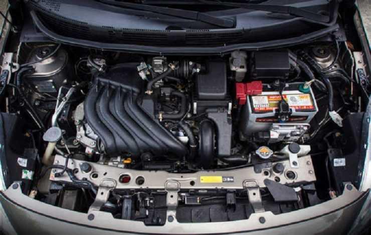 Двигатель Ниссан Альмера 2016