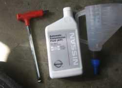 Масло АКПП для Nissan