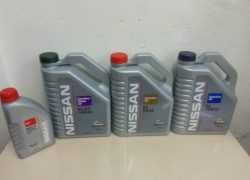 Оригинальные масла Nissan