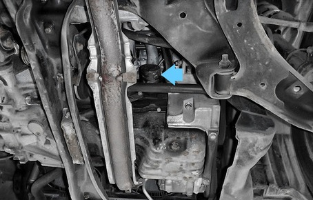 Замена масла в Nissan Almera