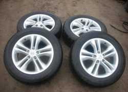 Комплект колес для Nissan Qashqai
