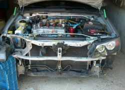 Подготовка к ремонту авто Nissan Almera