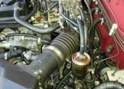 Расположение топливного фильтра на Nissan Almera