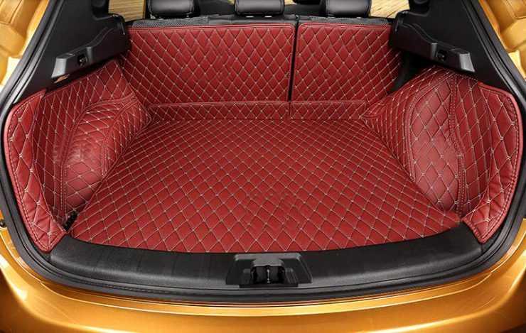 Перетяжка обшивки багажника Nissan Qashqai