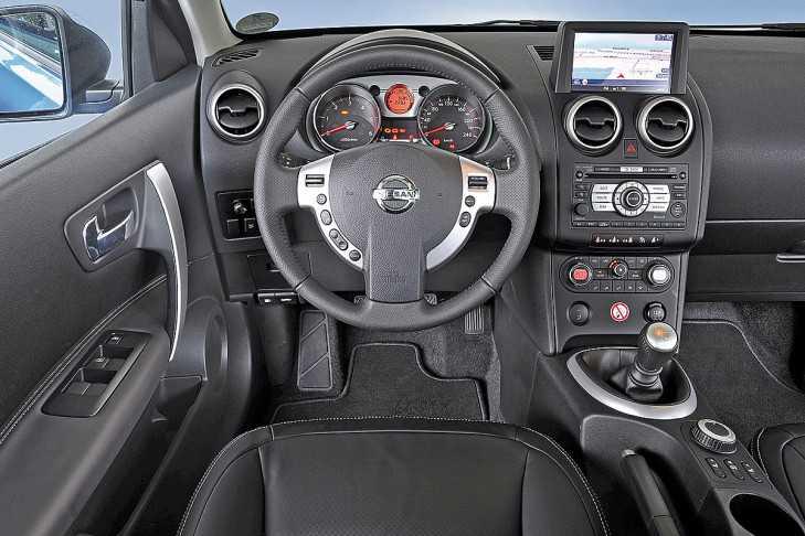 Салон Ниссан Кашкай 4WD фото
