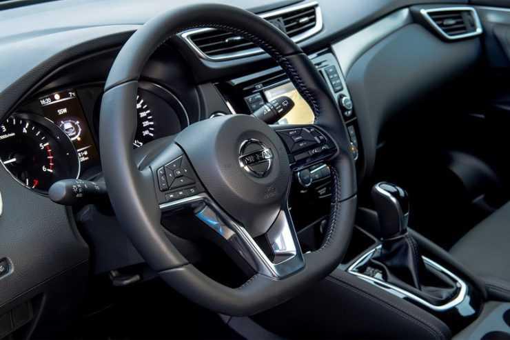 Салон нового Nissan Qashqai 2017