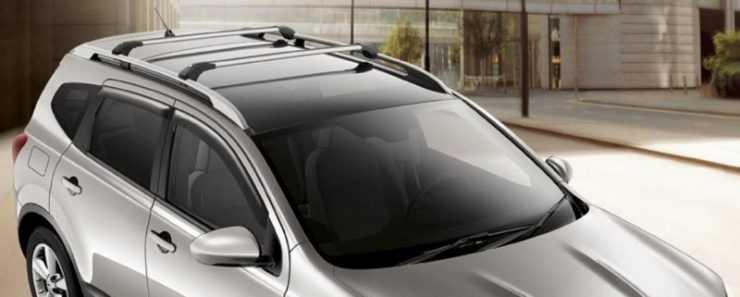 Багажник на крышу Ниссан Кашкай