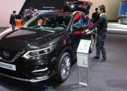 Nissan Qashqai 2017 на выставке