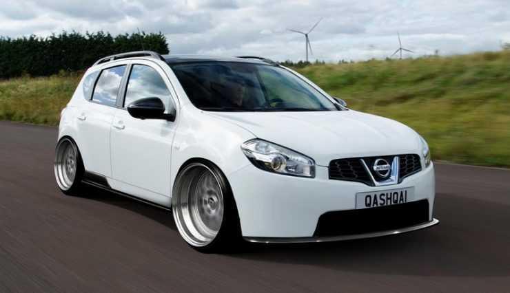 Нештатные колеса для Nissan Qashqai