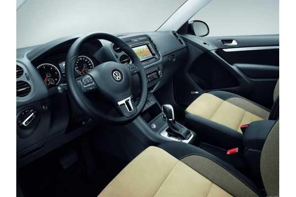 Внутри салона VW Tiguan
