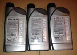 Фирменное трансмиссионное масло Nissan