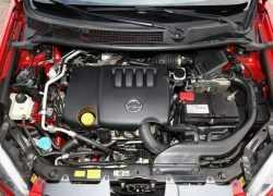 Вид двигателя Nissan Qashqai