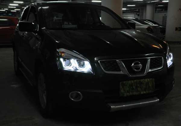Настройка фар на Nissan Qashqai