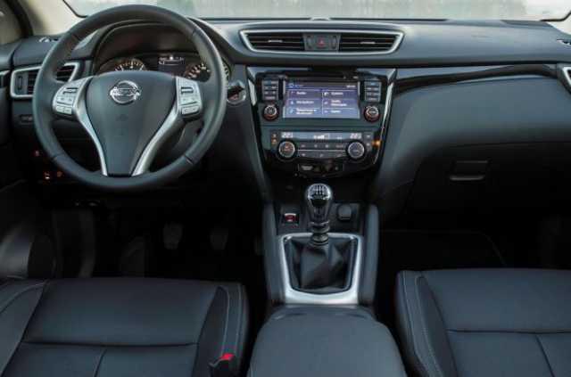 Устройство интерьера в Nissan Qashqai
