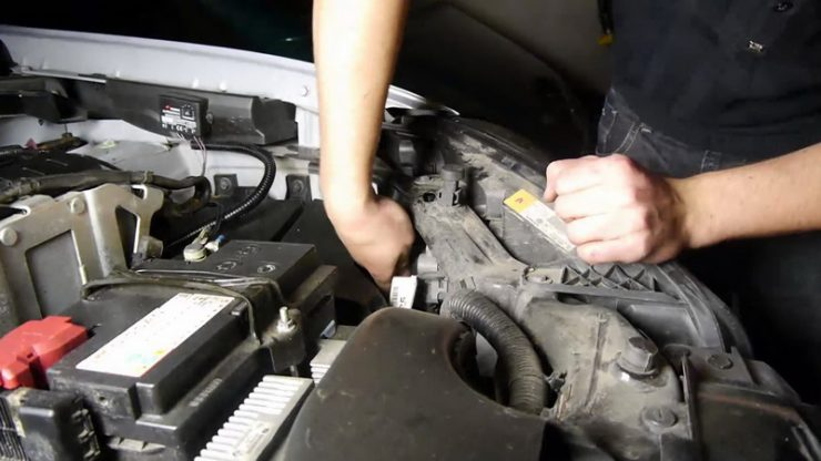 Процесс установки ксенона на Nissan Qashqai