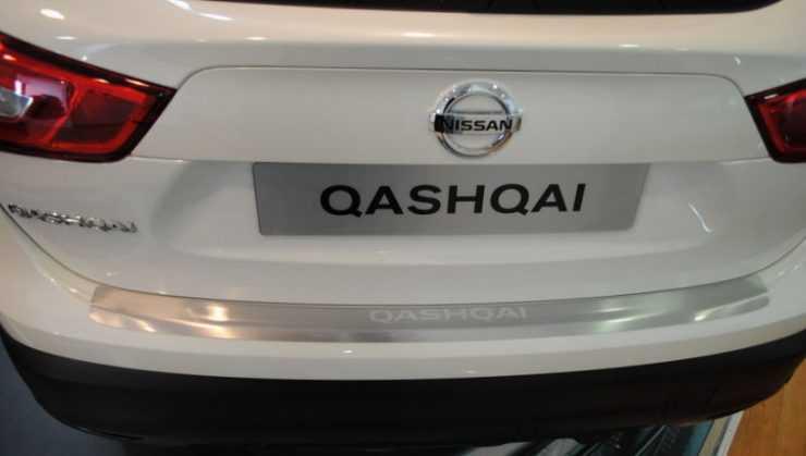 Задняя часть Nissan Qashqai